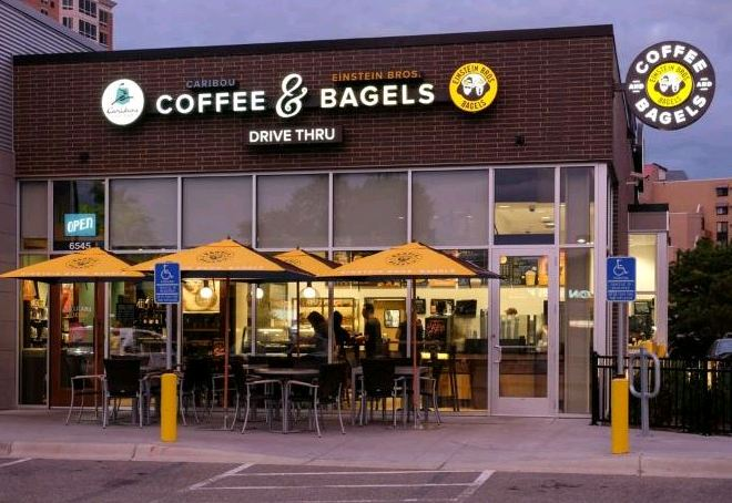 Coffee and Bagels Survey Outside 2